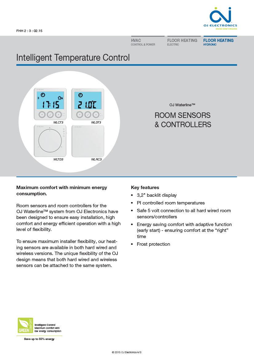 OJ Electronics Controls Brochure